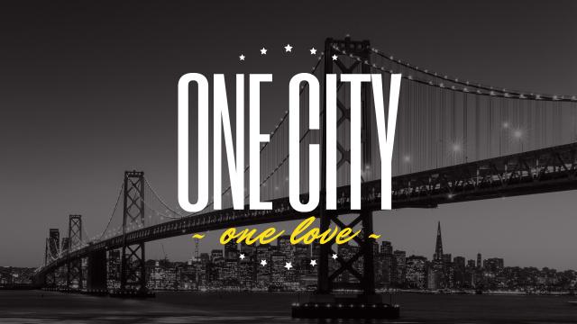 Modèle de visuel New York Night City View - Youtube