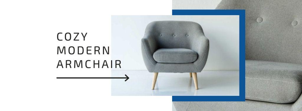Cozy Modern Armchair Offer — Maak een ontwerp