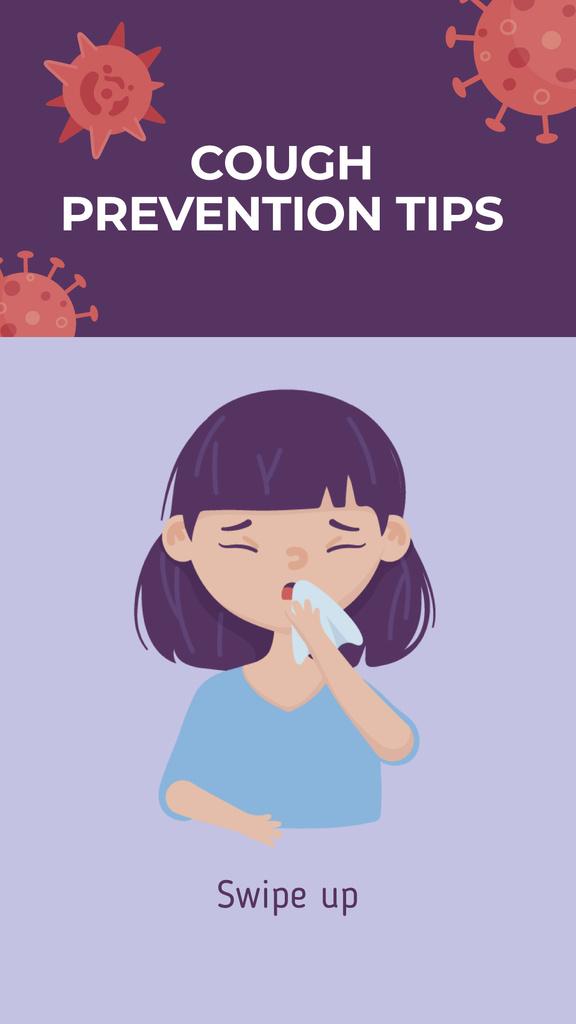 Woman with cold Sneezing — Maak een ontwerp