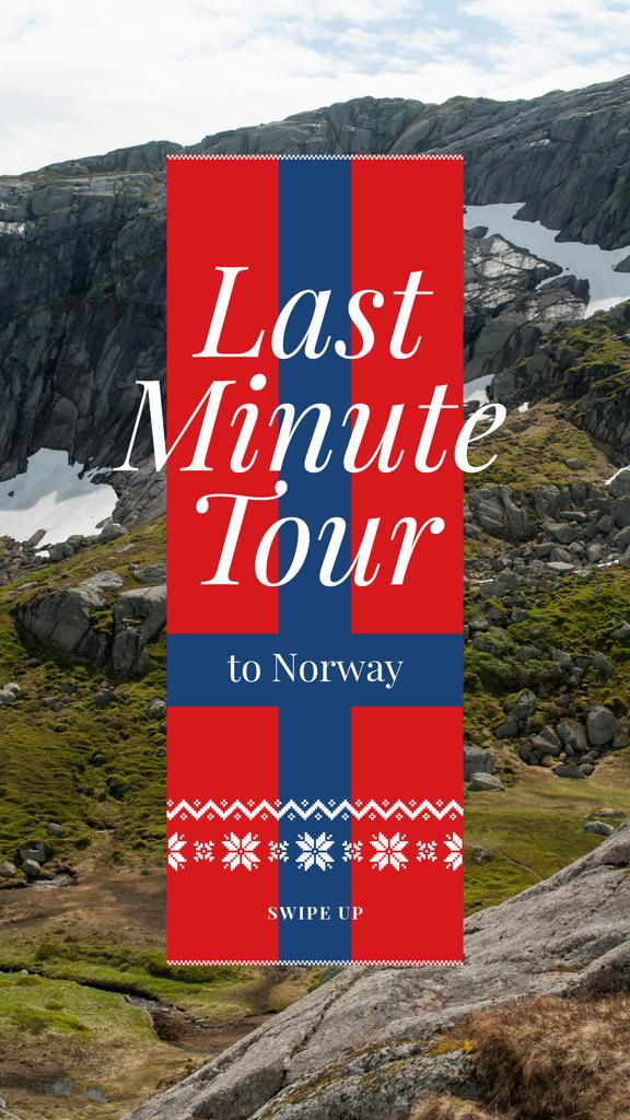Last Minute Tour Scenic Mountains View — Maak een ontwerp