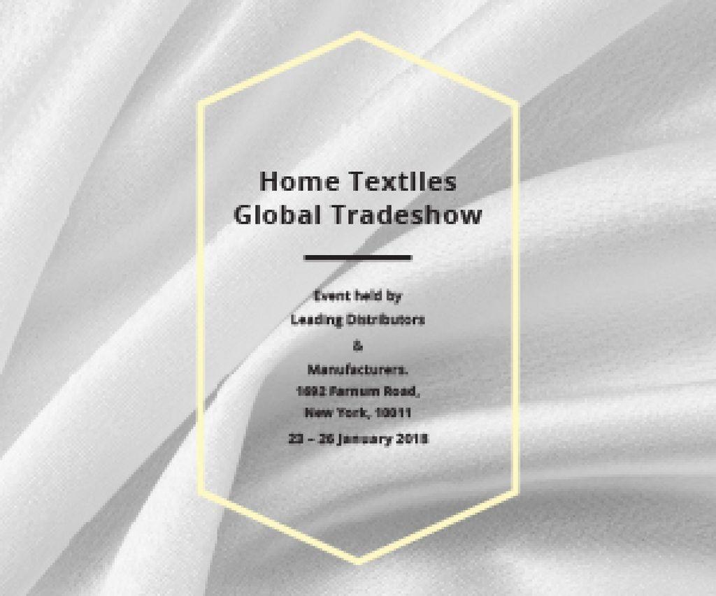 Home textiles global tradeshow — Modelo de projeto