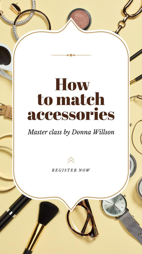 Accessories Guide Fashion Look Composition — Создать дизайн