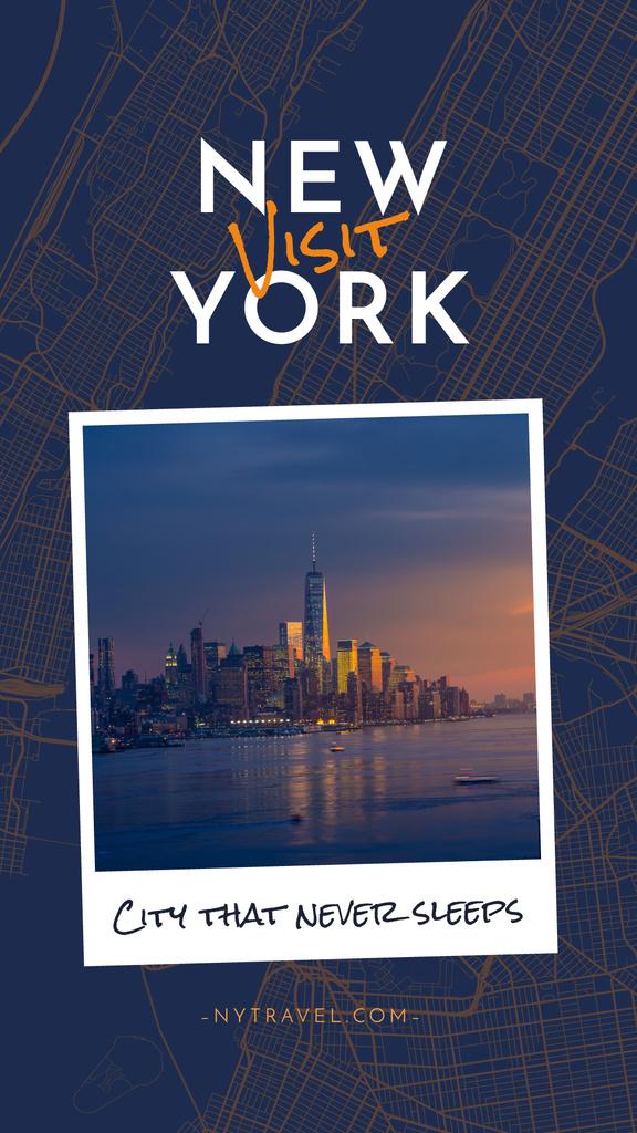 New York city — Maak een ontwerp