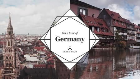 Template di design Special Tour Offer to Germany Full HD video