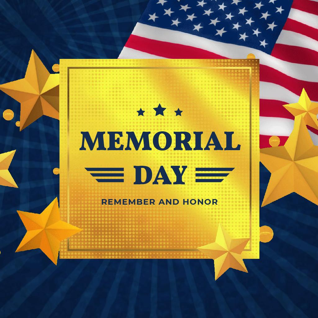 USA Memorial Day — Crea un design