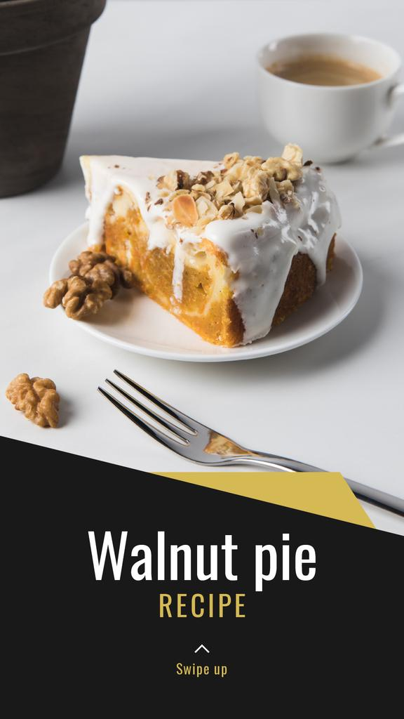 Sweet Nut Pie recipe — Maak een ontwerp