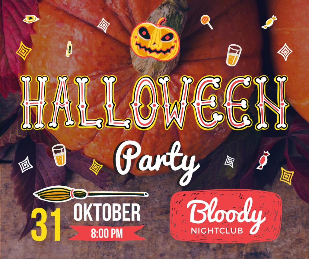 Halloween party poster — Створити дизайн