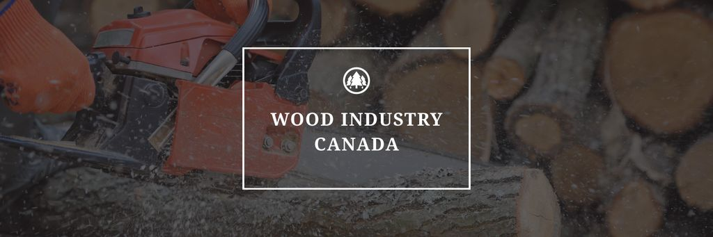 Wood industry Canada poster —デザインを作成する