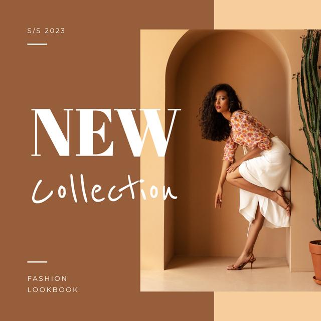 Summer Fashion Collection with eastern mood Photo Book – шаблон для дизайна