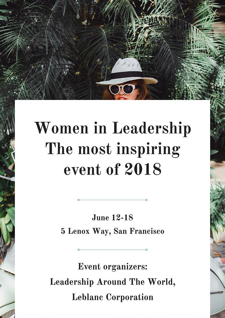 Women in Leadership event of 2018 — Crear un diseño