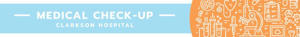 Medical check-up banner — Crea un design