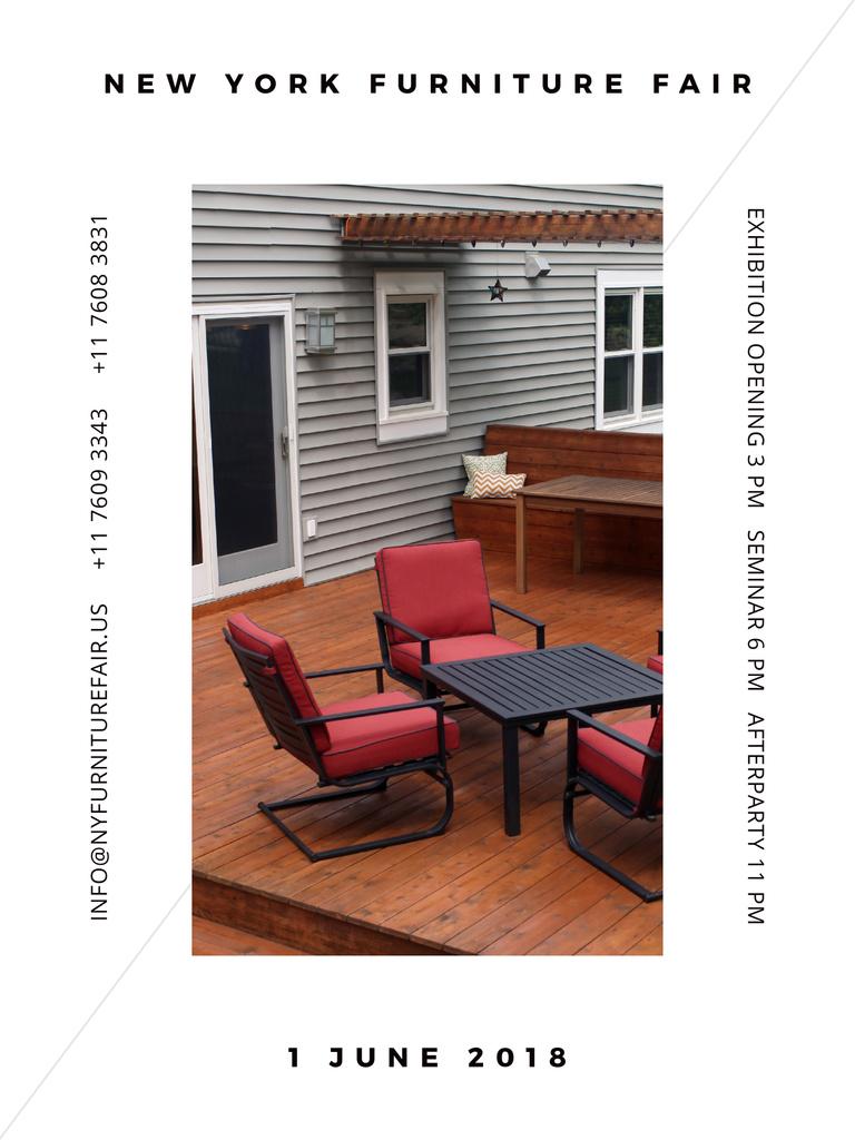 New York Furniture Fair — Modelo de projeto