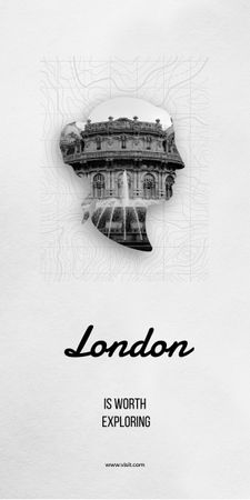 Ontwerpsjabloon van Graphic van London tour inspiration