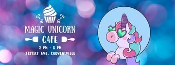 Funny cute unicorn