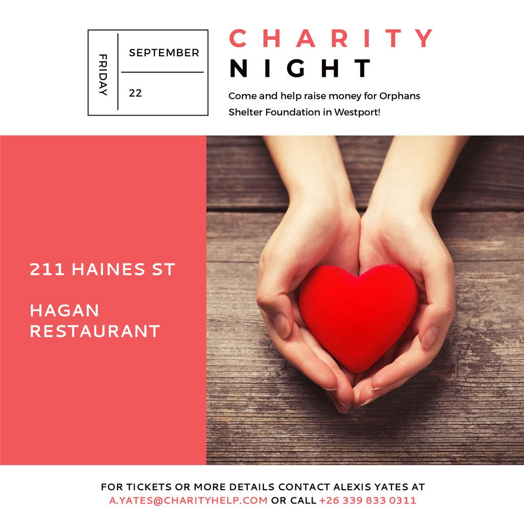Corporate Charity Night — Створити дизайн