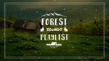 Nature Sounds Ad  Scenic Mountain View | Youtube Thumbnail Template