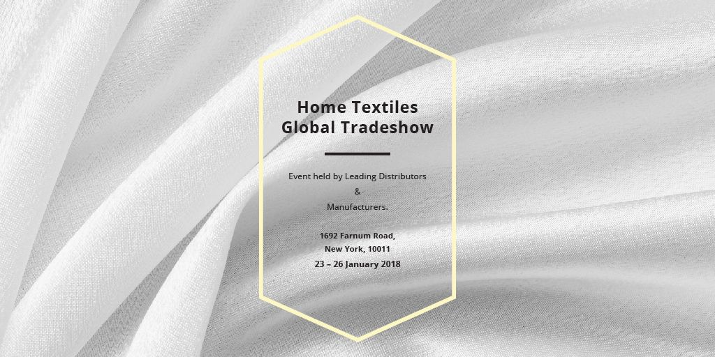 Home textiles global tradeshow —デザインを作成する