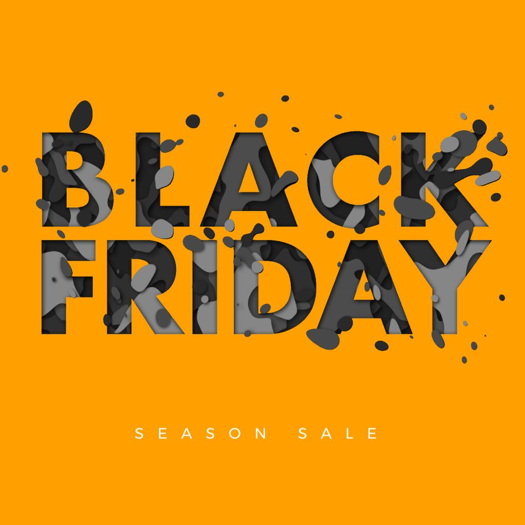 Black Friday inscription — ein Design erstellen