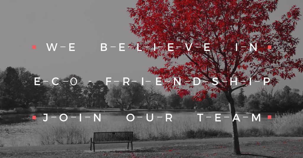 Eco-friendship concept — Create a Design