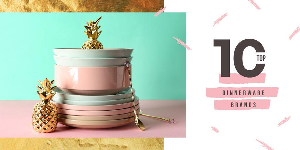 Kitchen ceramic tableware — Create a Design