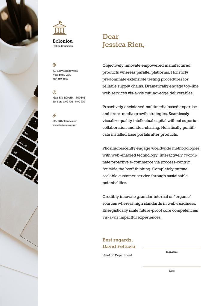 Business company official offer — Modelo de projeto