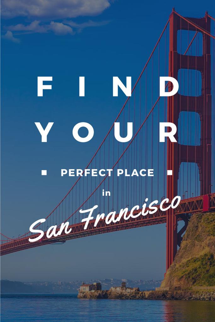 San Francisco city banner — Create a Design