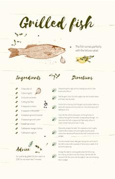 Grilled Fish illustration