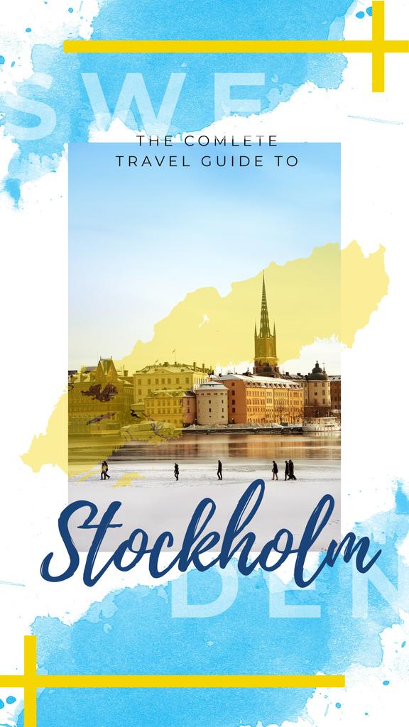 Stockholm city view — ein Design erstellen