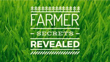 Farming Tips on Green grass field