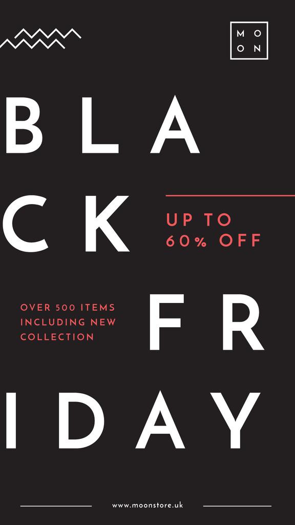 Black Friday Ad Minimalistic geometric lines — Maak een ontwerp