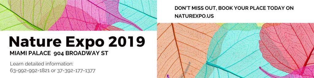 Nature Expo 2019 — Crear un diseño