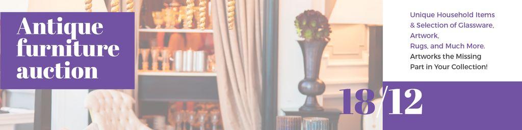 Antique Furniture Auction — Створити дизайн