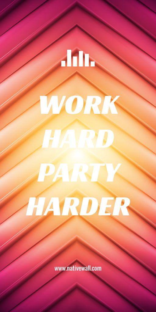 Motivational quote poster – Stwórz projekt