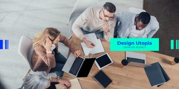 Design Agency Team working in office