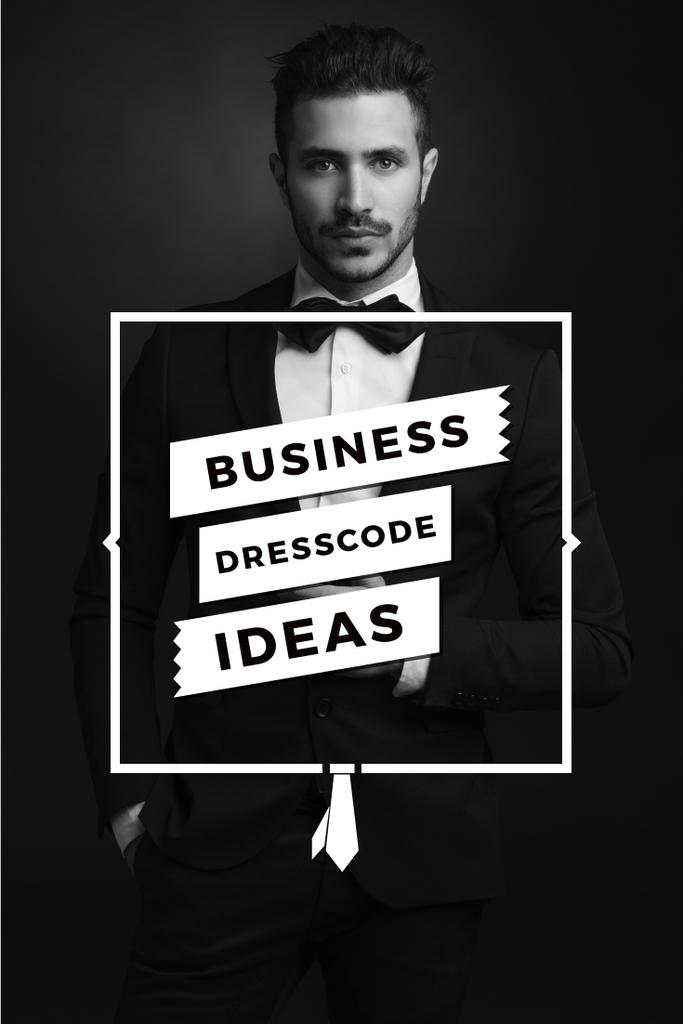 Business dresscode ideas poster — ein Design erstellen
