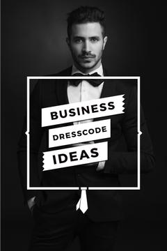 Business dresscode ideas poster