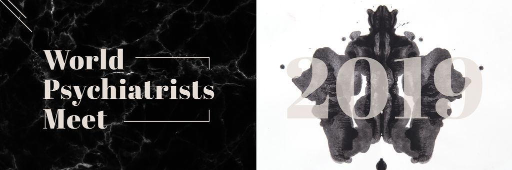 Rorschach test inkblot — Create a Design