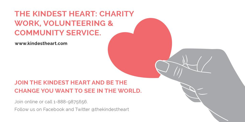 The Kindest Heart: Charity Work — Modelo de projeto
