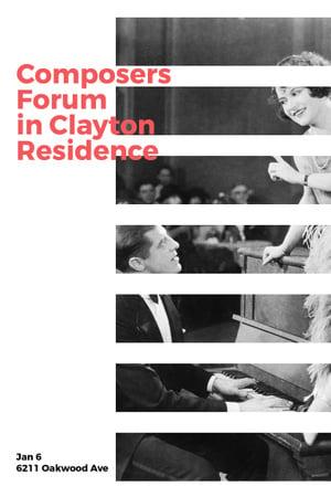 Composers Forum in Clayton Residence Pinterest – шаблон для дизайну