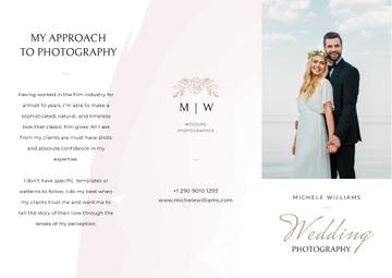 Wedding Photographer services
