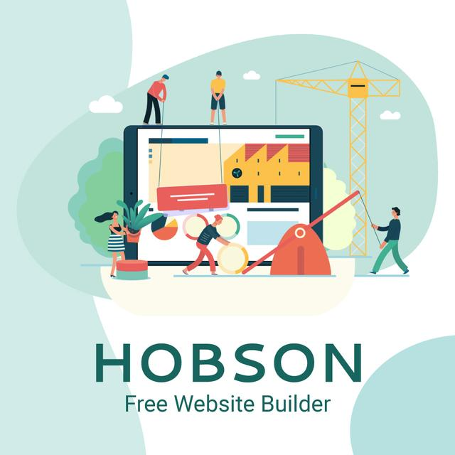 Business team creating website Animated Post Modelo de Design