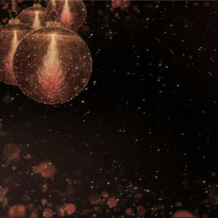 Szablon projektu New Year Greeting with Shiny Baubles Animated Post