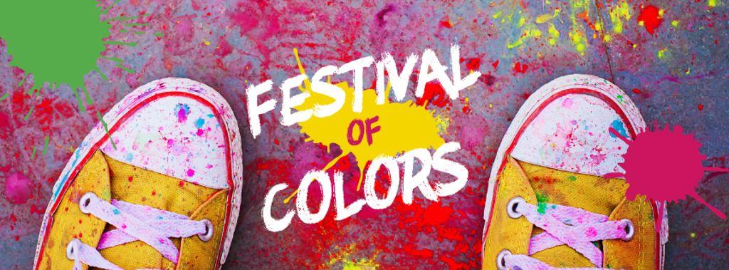 Indian Holi festival celebration — Create a Design