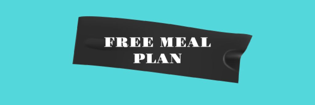 Fitness Meal plan promotion —デザインを作成する