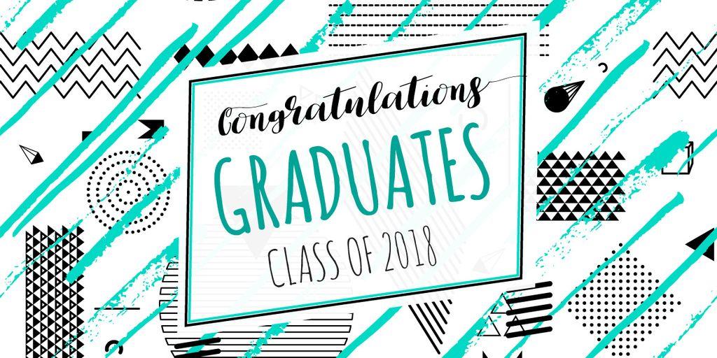 Congratulations graduates card — Создать дизайн