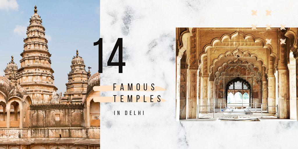 Old Indian buildings — Modelo de projeto