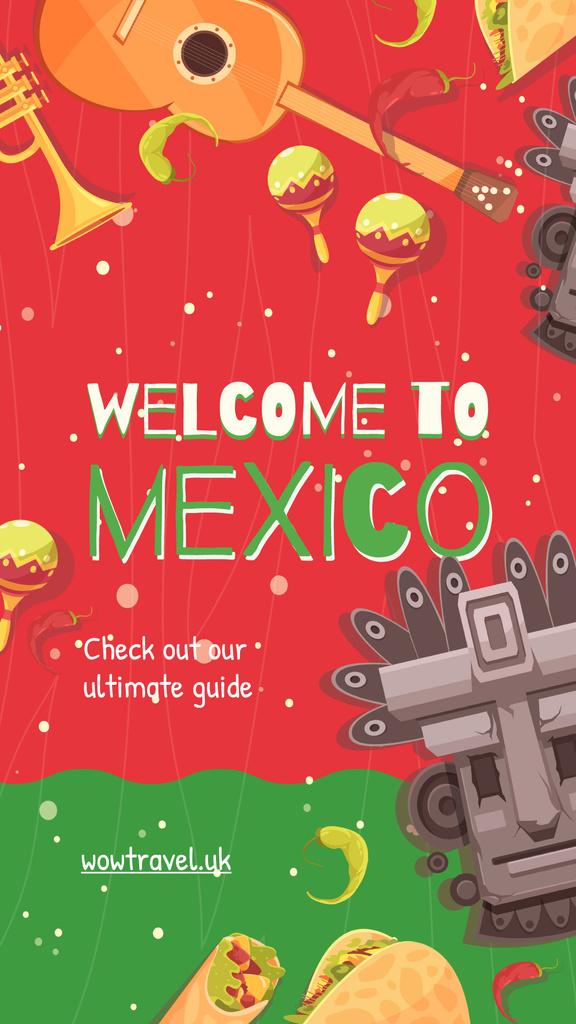 Travelling to Mexico concept — Создать дизайн