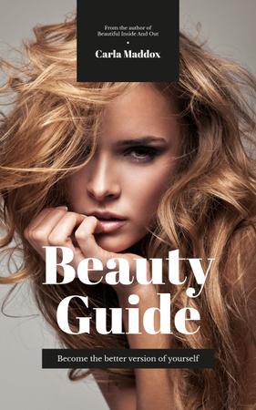 Young attractive woman Book Cover Modelo de Design