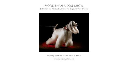 Dog Show in Kansas Twitter Modelo de Design