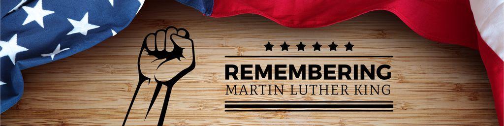 Martin Luther King day Greeting — Crear un diseño